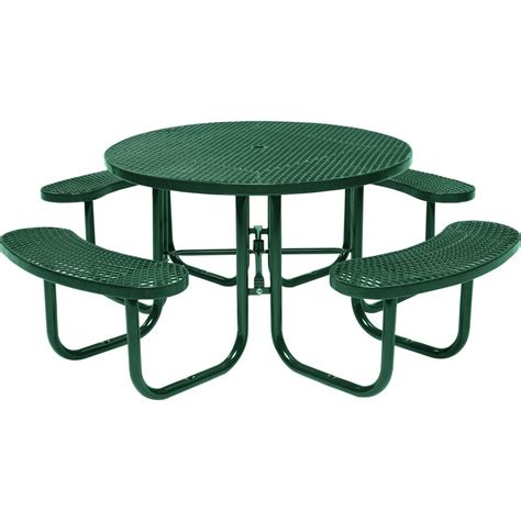 home depot garden table outdoor living today 64 3 4 in x 66 in patio picnic