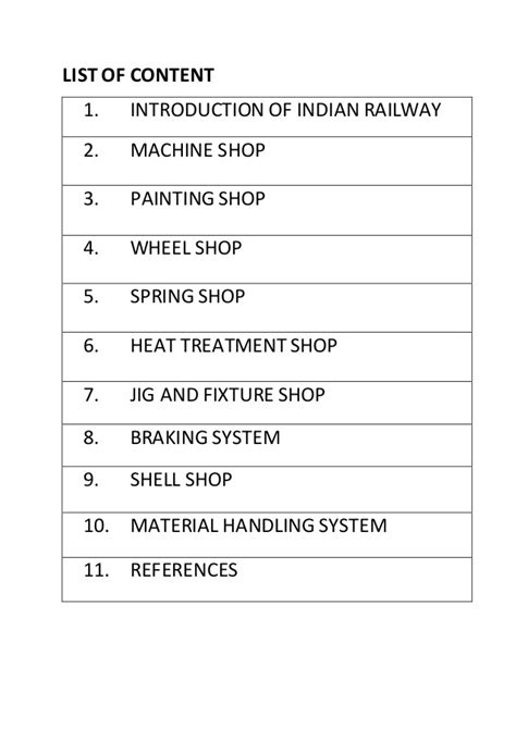 mechanical equipments list gorakhpur mechanical workshop summer training report