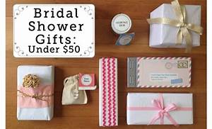 fabulous unique bridal shower gifts 50 or less With unique wedding shower gifts for her