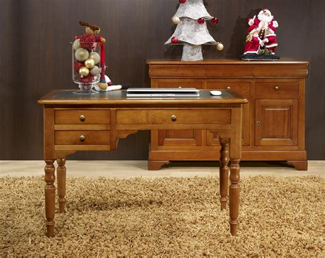 bureau en bois ancien bureau bois massif ancien mzaol com