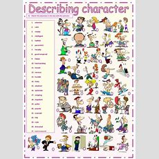 Describing Character (exercises