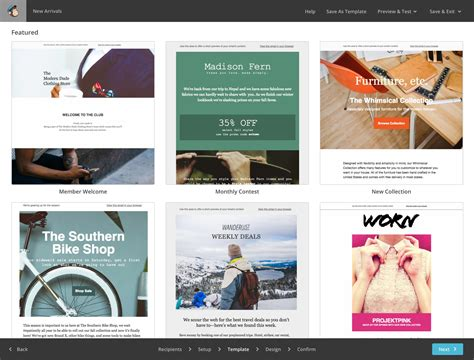 Mailchimp Newsletter Templates Email Templates