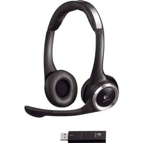 Logitech ClearChat PC Wireless Headphones with Mic (981