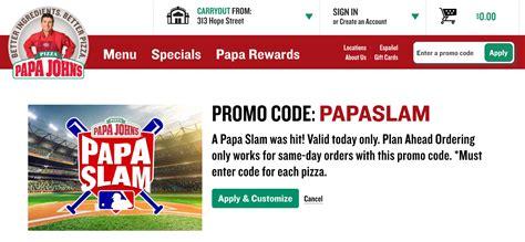 50718 Grand Slam Promo Code Papa Johns by Papa S Pepperoni Rolls パパジョーンズのペパロニロール I M Made