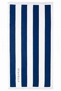 Grande Serviette De Plage : accessoire seafolly 2015 vente en ligne serviette bleu seafolly ~ Teatrodelosmanantiales.com Idées de Décoration