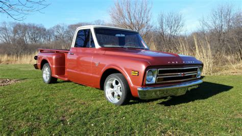 1968 chevy c10 stepside truck chevrolet c 10 68 for sale technical