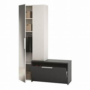 Vestiaire D Entrée : meuble d 39 entree vestiaire chaussures ~ Teatrodelosmanantiales.com Idées de Décoration