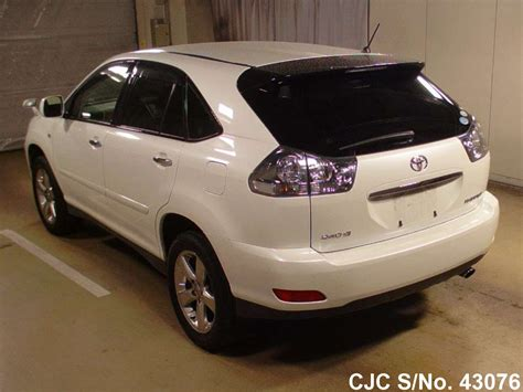 2011 toyota harrier pearl for sale stock no 43076 used cars exporter
