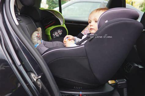 crash test siege auto on a testé le siège auto spin 360 de joie le carnet d 39