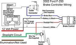 wire diagram  installing  voyager brake controller    ford   etrailercom