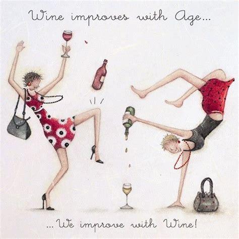 wine improves  age ladies  love life berni