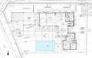 cote ouest architecture et bois maison et extension With plan maison avec cotation