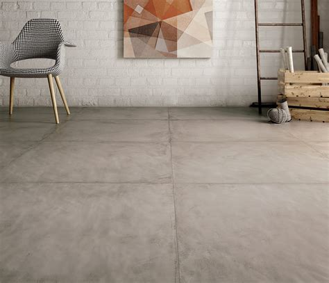 concrete effect tiles for walls and floor res cover by ricchetti