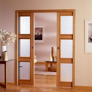 porte prix tous les prix de portes With porte de garage coulissante avec porte intérieure bois vitrée