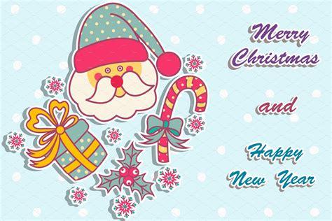 sample christmas cards postcard templates creative market