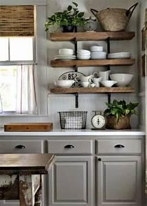 35, Beautiful, Organized, Farmhouse, Kitchen, Decor, Ideas