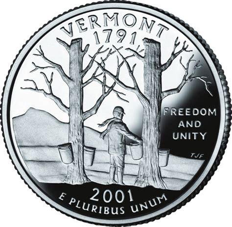 vermont state quarter statescom