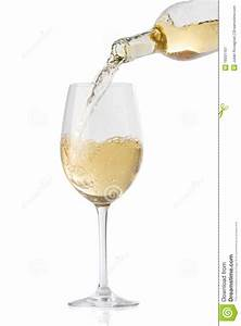 Pouring White Wine Into A Glass Stock Image - Image: 16931161