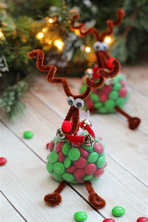 reindeer treats christmas craft craft easy  gift