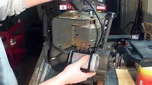 Tecumseh Hm80 Engine Part 13 - Starter Installation