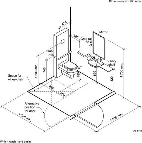 Bathroom Designs Dimensions by Bathroom Handicap Bathroom Dimensions With Easy Guide To