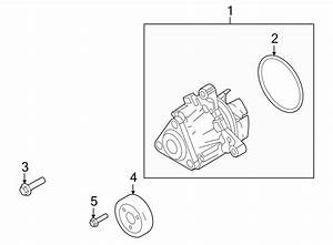 Ford Transit Connect Bolt  Water  Pump  Engine  Adapter