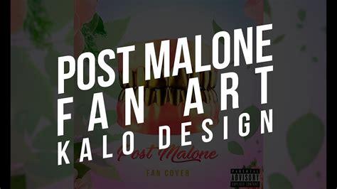 Post Malone \ Cover Design \ Speed Art
