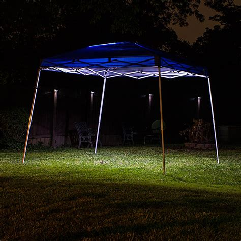 canape led portable canopy tent led lighting kit single color led