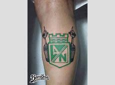Tattoos Tatuajes Los del Sur Atlético Nacional