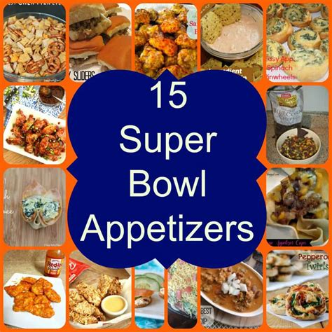 Appetizers For Bowl by 15 Bowl Appetizers Pasta And A Tool Belt