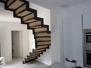 Escalier Fer Et Bois : marches en h v a sur escalier fer al s gard cruviers ~ Dailycaller-alerts.com Idées de Décoration