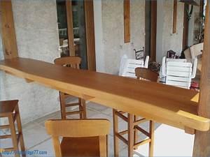Bar En Bois : bar bois exterieur ~ Teatrodelosmanantiales.com Idées de Décoration