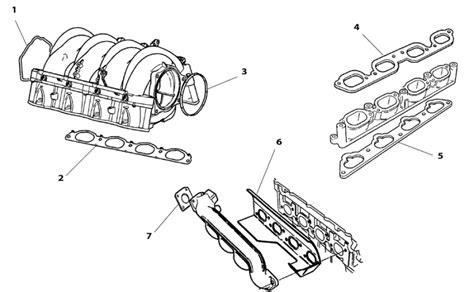 Jaguar Intake Gasket, V-8 S-type 4.2 To N13088, Etc.