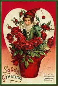 Valentine's Day Vintage Postcard