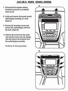 2004 Acura Tl Speaker Wiring Diagram : 2004 acura mdxinstallation instructions ~ A.2002-acura-tl-radio.info Haus und Dekorationen