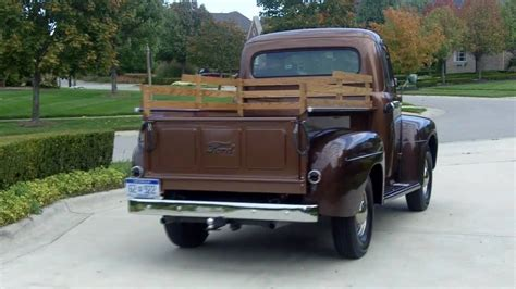 1951 ford f 3 pickup restored classic muscle car for sale in mi 48 52 fat fendered ford