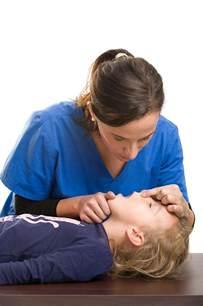 CPR Children Breaths and Compression