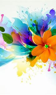 Abstract Design Flower Wallpaper Abstract Wallpapers HD ...