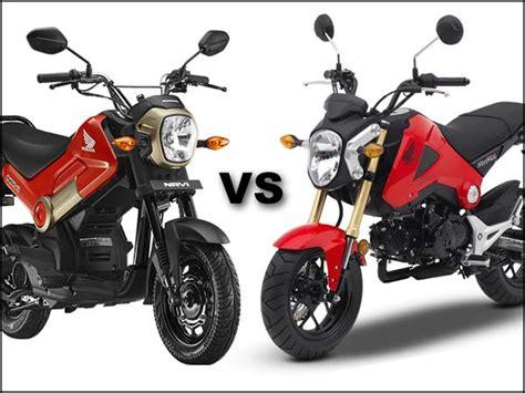 Honda Navi vs Honda Grom Comparison: Why Didn't The Grom ...