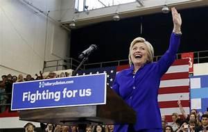 Hillary Clinton Wins Enough Delegates To Secure Democratic ...