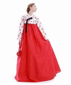 Robe été Mariage : hanbok robe cor enne sur mesure c r monie mariage t rouge blanc france cor e ~ Preciouscoupons.com Idées de Décoration