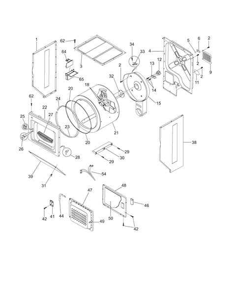 frigidaire laundry center motor tub parts fgx831fs0 searspartsdirect