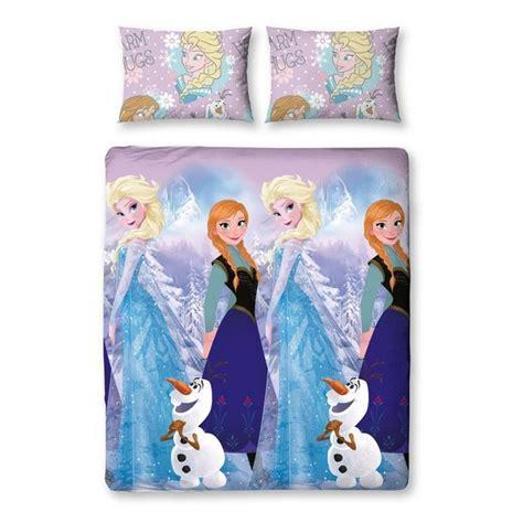 parure de lit la reine des neiges frozen 200x200cm forom47