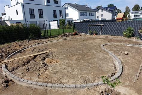 randsteine setzen wie viel beton braucht anleitung