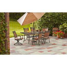 portico 7 pc dining set costco patio