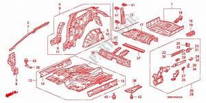 Floor  Inner Panels For Honda Cars Civic 1 8 Type S 3 Doors Intelligent Manual Transmission 2008