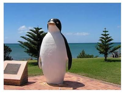 Penguin Tasmania Australia Attractions Statue Giant Things