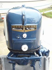 1958 35 Hp Evinrude Outboard Antique Boat Motor For Sale