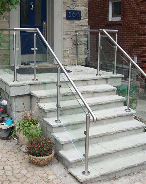 Outdoor Banister Railing by Remodel Outdoor Stair Railing Plans Better Than Where To