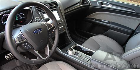 ford fusion 2017 interior 2017 ford fusion sport v6 review the automotive review